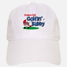 Grandpa's Little Golfin' Buddy Baseball Baseball Cap