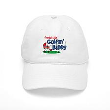 Grandpa's Little Golfin' Buddy Baseball Cap