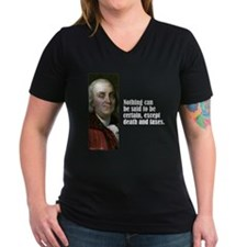 "Franklin ""Death & Taxes"" Shirt"