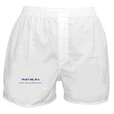 Trust Me I'm a Radio Sound Technician Boxer Shorts