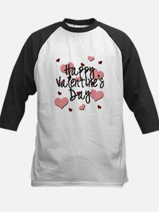 Valentine's Day Kids Baseball Jersey