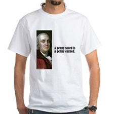 "Franklin ""Penny Saved"" Shirt"