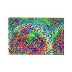 Cosmic Swirl Rectangle Magnet