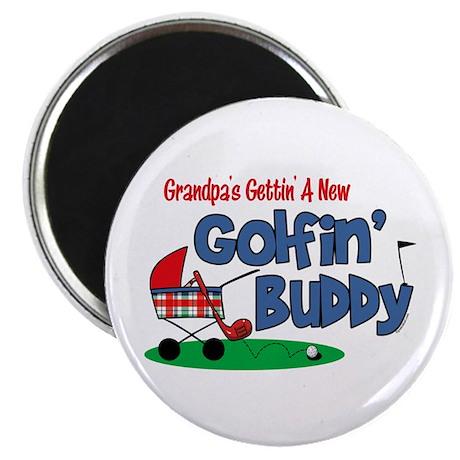 Grandpa's New Golfing Buddy Magnet