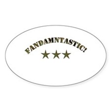 Fandamtastic Oval Decal