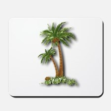 Twin palms Mousepad