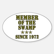 Swamp Member Oval Decal