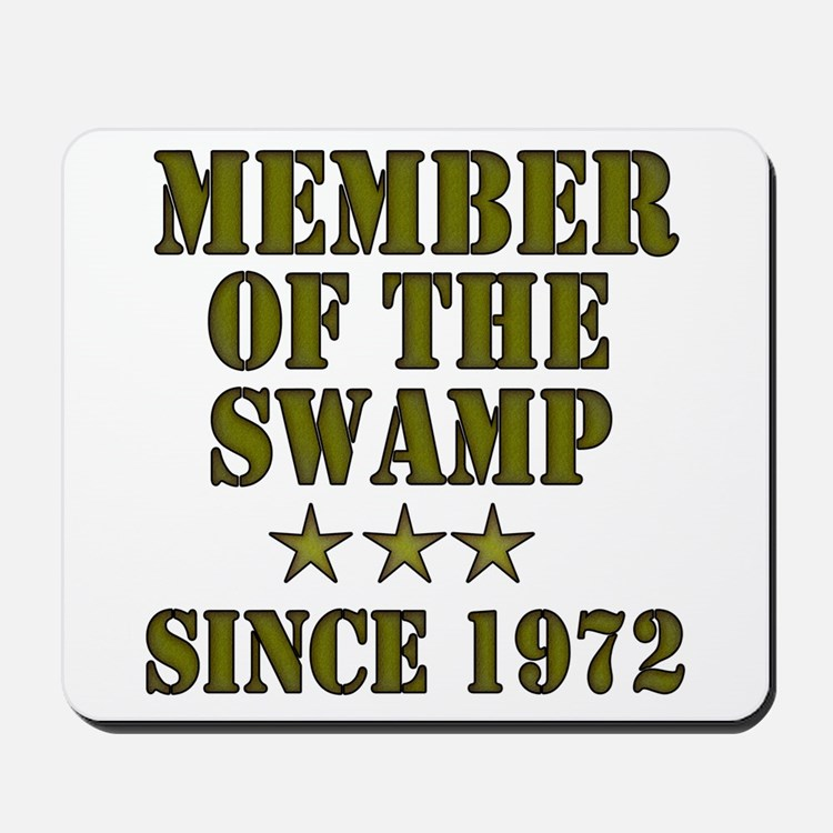 Swamp Member Mousepad