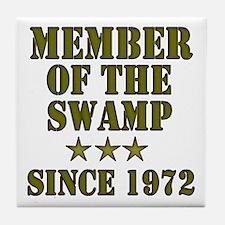 Swamp Member Tile Coaster