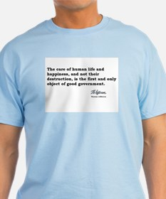 Life and Happiness -Jefferson T-Shirt