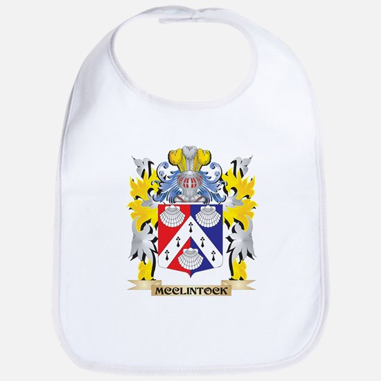 Mcclintock Coat of Arms - Family Crest Baby Bib