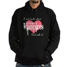 books about teenage Vampires Hoodie