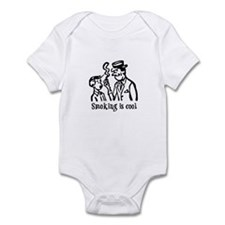 Smoking is cool Infant Bodysuit
