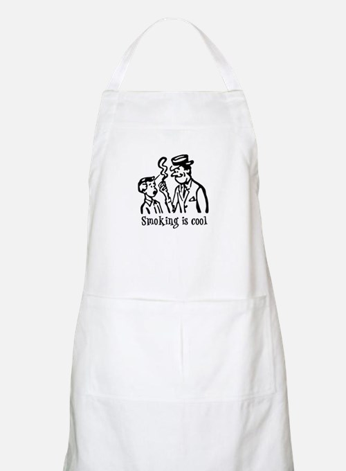 Smoking is cool BBQ Apron