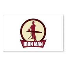 """Iron Man"" Rectangle Decal"
