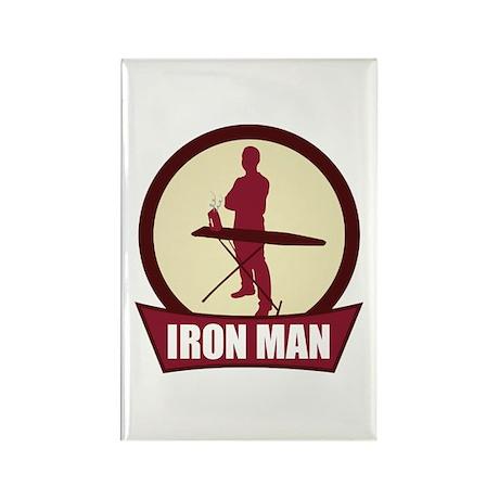 """Iron Man"" Rectangle Magnet"