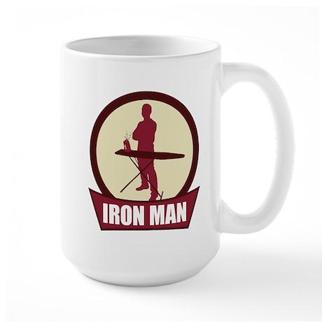 """Iron Man"" Large Mug"