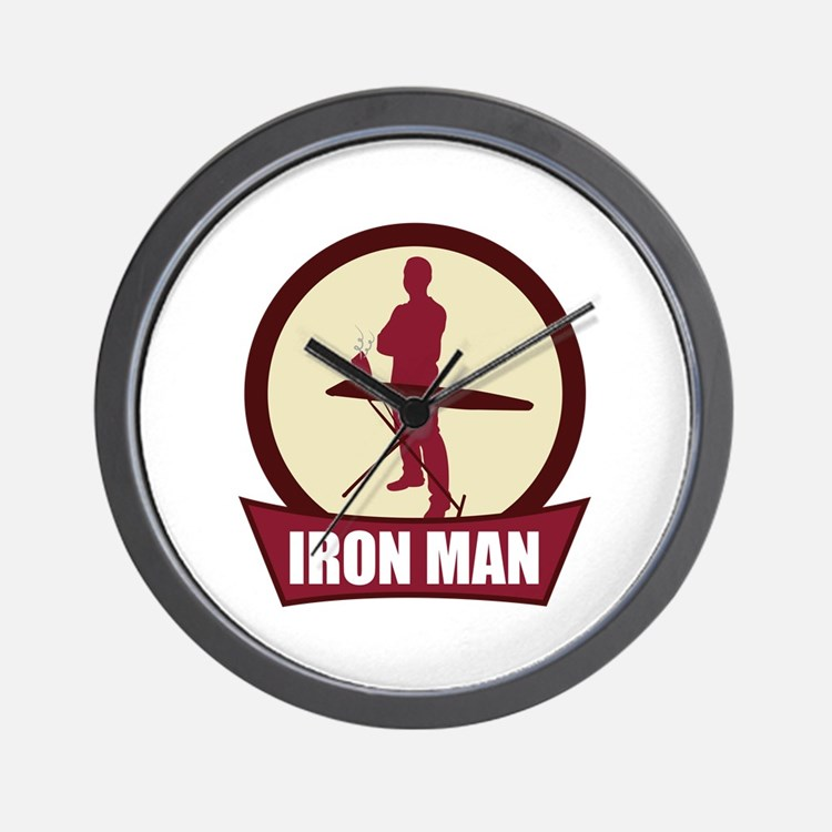 """Iron Man"" Wall Clock"