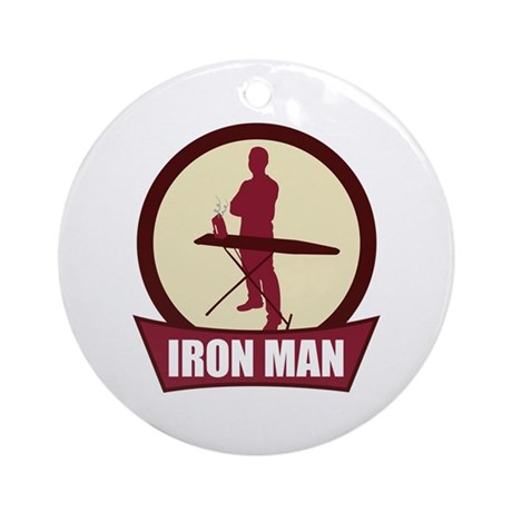 """Iron Man"" Ornament (Round)"