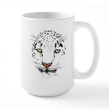 Snow Leopard Large Mug