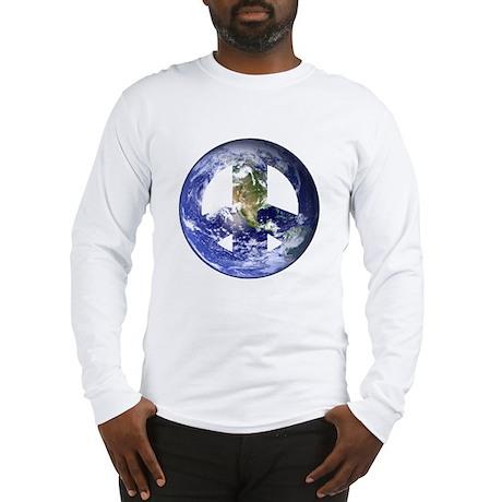 World Peace Sign West Long Sleeve T-Shirt