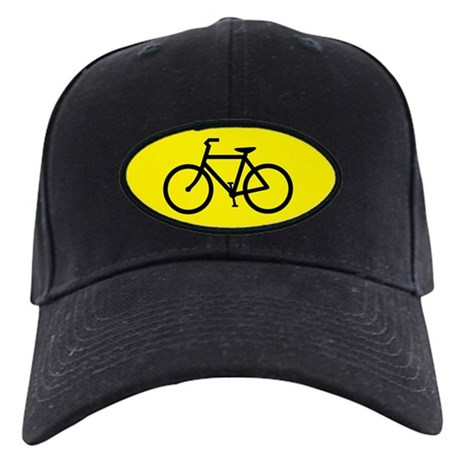 Bike Share the Road Black Cap