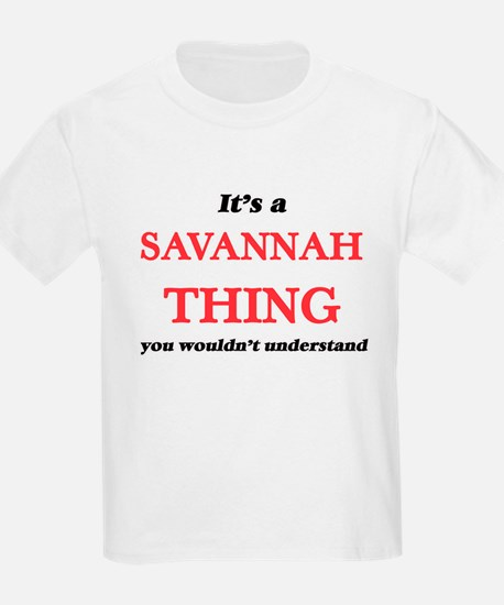 It's a Savannah Georgia thing, you wou T-Shirt