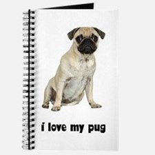 I Love My Pug Journal