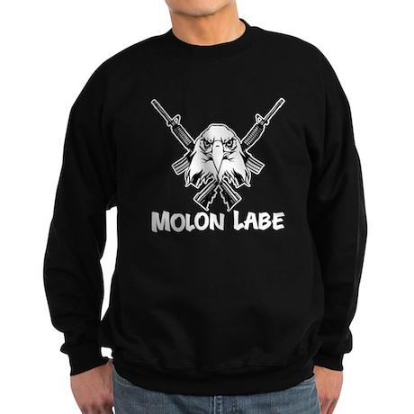 Molon Labe (Bald Eagle) Sweatshirt (dark)