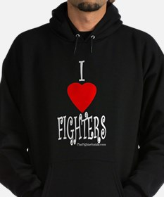 I Love Fighters Hoodie