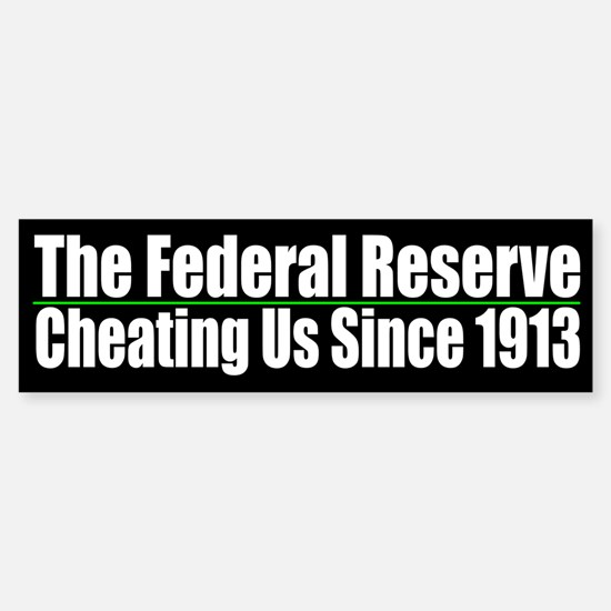 The Fed Cheating Us Since 1913