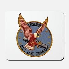 USS LAKE CHAMPLAIN Mousepad