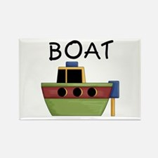 Boat Rectangle Magnet