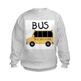 Childrens bus Crew Neck