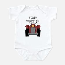 Four Wheeler Infant Bodysuit