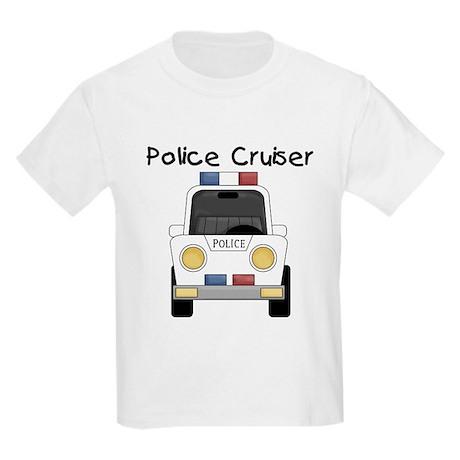 Police Cruiser Kids Light T-Shirt