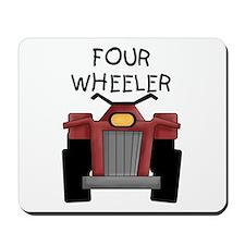Four Wheeler Mousepad