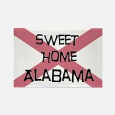 Sweet Home Alabama Rectangle Magnet