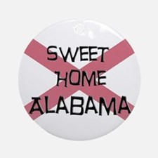 Sweet Home Alabama Ornament (Round)