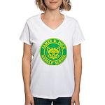 Polk Middle School Women's V-Neck T-Shirt