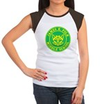 Polk Middle School Women's Cap Sleeve T-Shirt