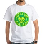 Polk Middle School White T-Shirt