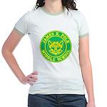 Polk Middle School Jr. Ringer T-Shirt