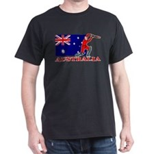 Australia Cricket Player T-Shirt