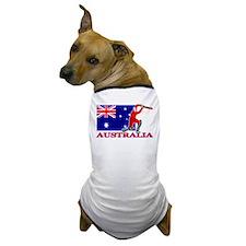 Australia Cricket Player Dog T-Shirt