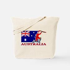 Australia Cricket Player Tote Bag