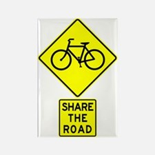 Share the Road Bike Sign Magnet
