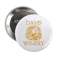 "Davis Last Name Vintage Winery 2.25"" Button"