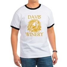 Davis Last Name Vintage Winery T