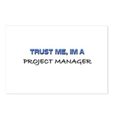 Trust Me I'm a Project Manager Postcards (Package